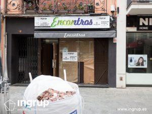0001 ingrup estudi obra y construccion diseno reforma granollers barcelona gastrobar encontros fachada antigua