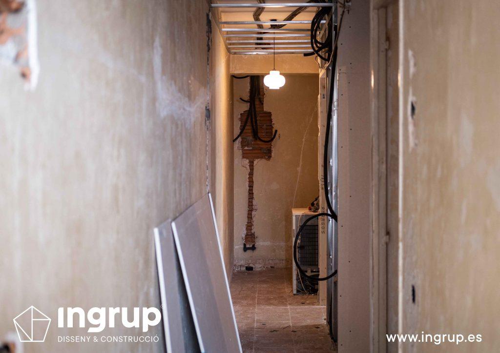 0001 reforma integral vivienda ingrup estudi diseno construccion granollers barcelona obra reforma nueva instalacion electrica saneamiento