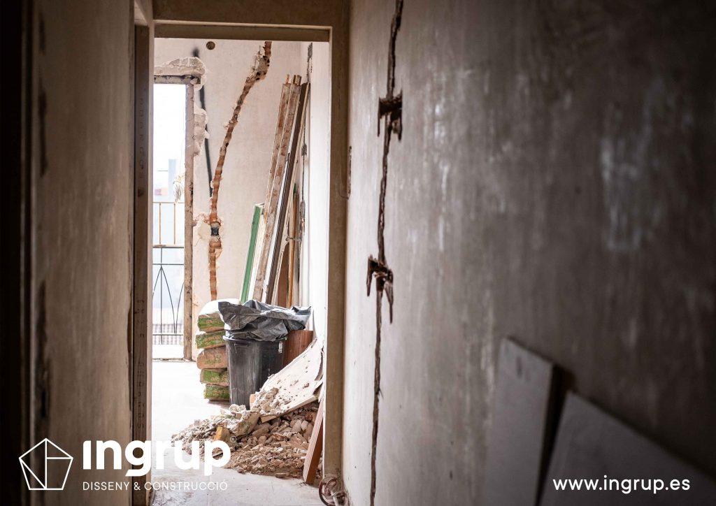 0002 reforma integral vivienda ingrup estudi diseno construccion granollers barcelona obra reforma rehabilitacion paredes