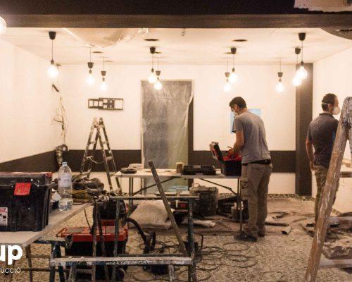 01 ingrup estudi obra y construccion diseno reforma granollers barcelona gastrobar encontros derribo de pared