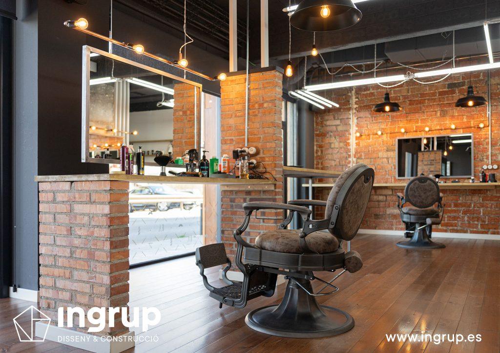 01 proyecto integral construccion diseno obra reforma ingrup estudi granollers barberia interiorismo