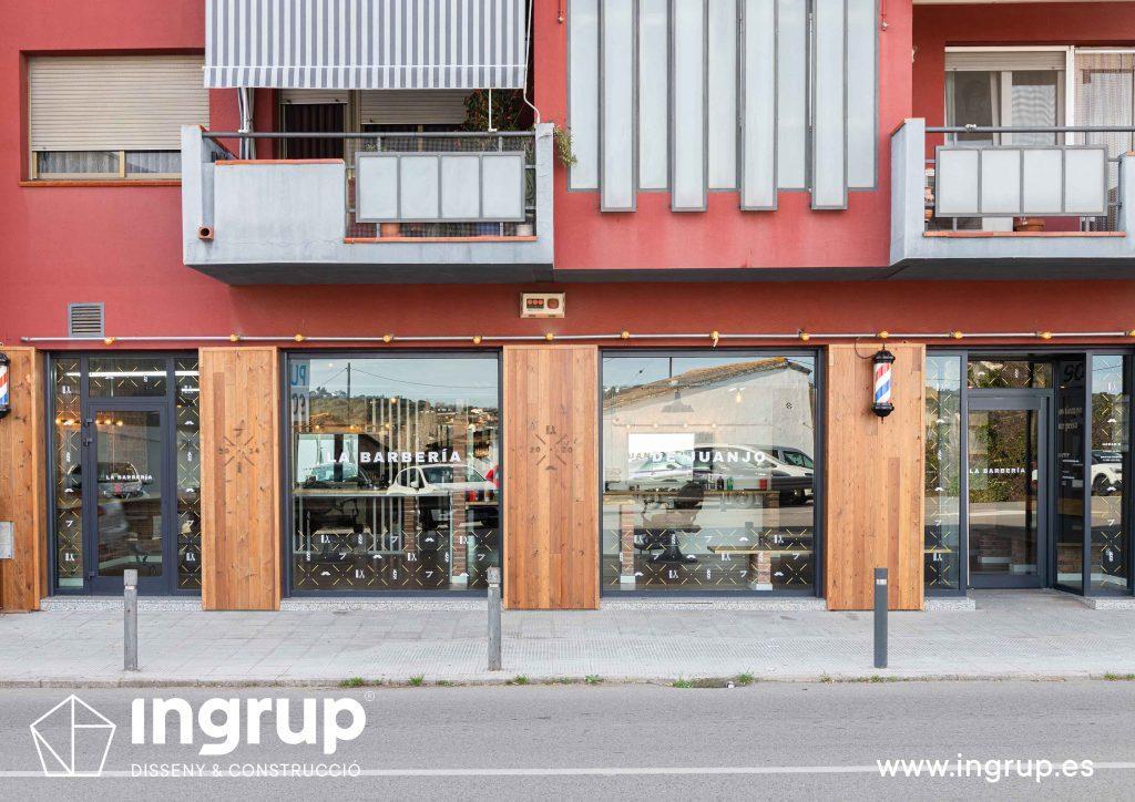 01 proyecto integral llaves en mano ingrup estudi diseno construccion obra reforma revestimiento fachada madera rotulacion corporeas