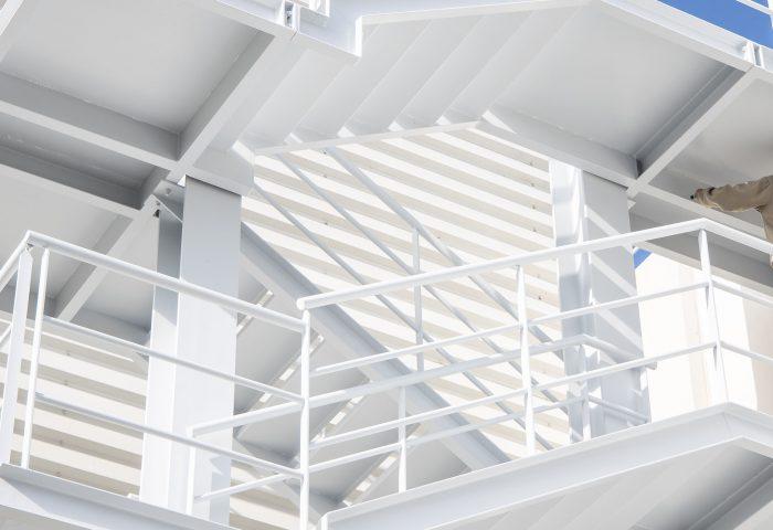 01 slider principal kh7 mantenimiento pintura escaleras emergencia industrial
