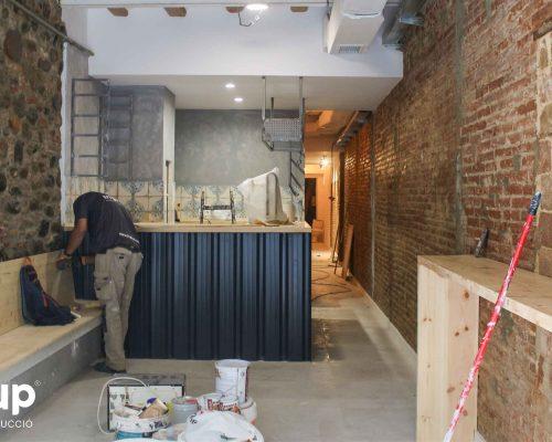 04 la magrana restaurant obra reforma construccion ingrup estudi acabados barra nueva