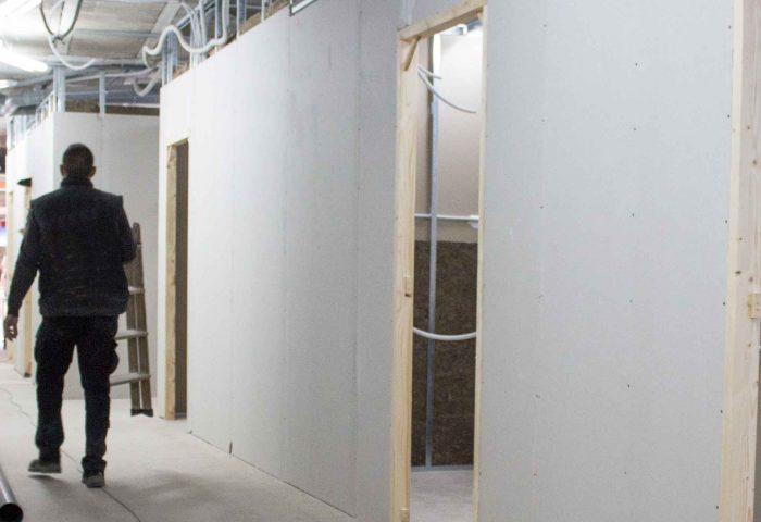 07 pladur cerramientos techo continuo desmontable aislamiento acustico al fuego certificado ingrup estudi diseno construccion granollers barcelona retail