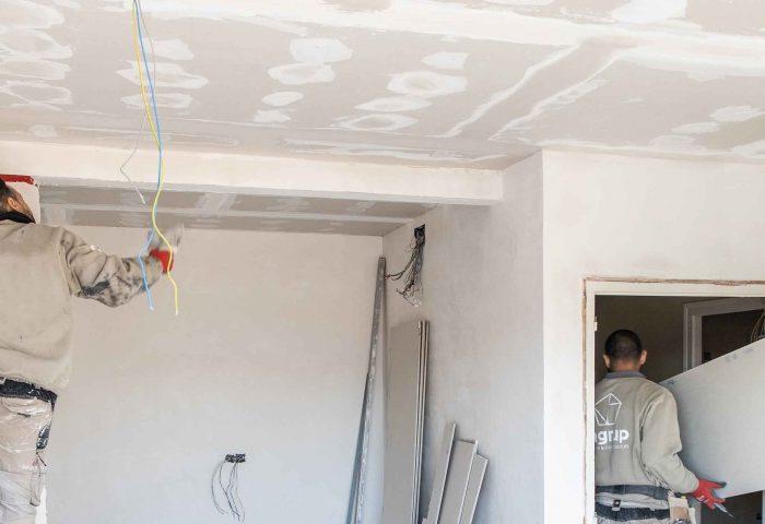 11 pladur cerramientos techo continuo desmontable aislamiento acustico al fuego certificado ingrup estudi diseno construccion granollers barcelona retail