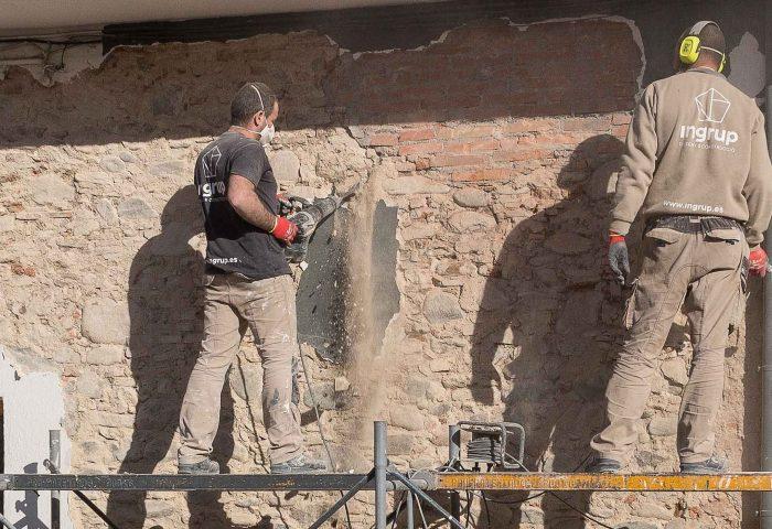 43 servicios pintura pladur derribos carpinteria madera aluminio revestimientos instalaciones ingrup estudi diseno construccion retail granollers barcelona