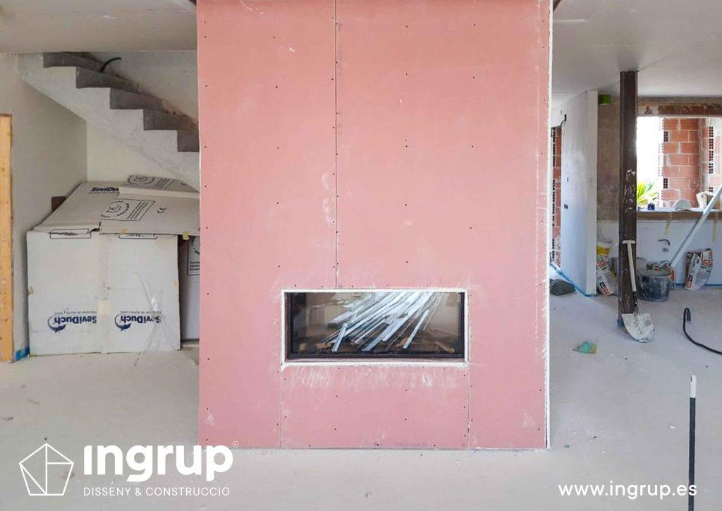aislamiento fuego pladur ignifugo ingrup estudio granollers barcelona construccion