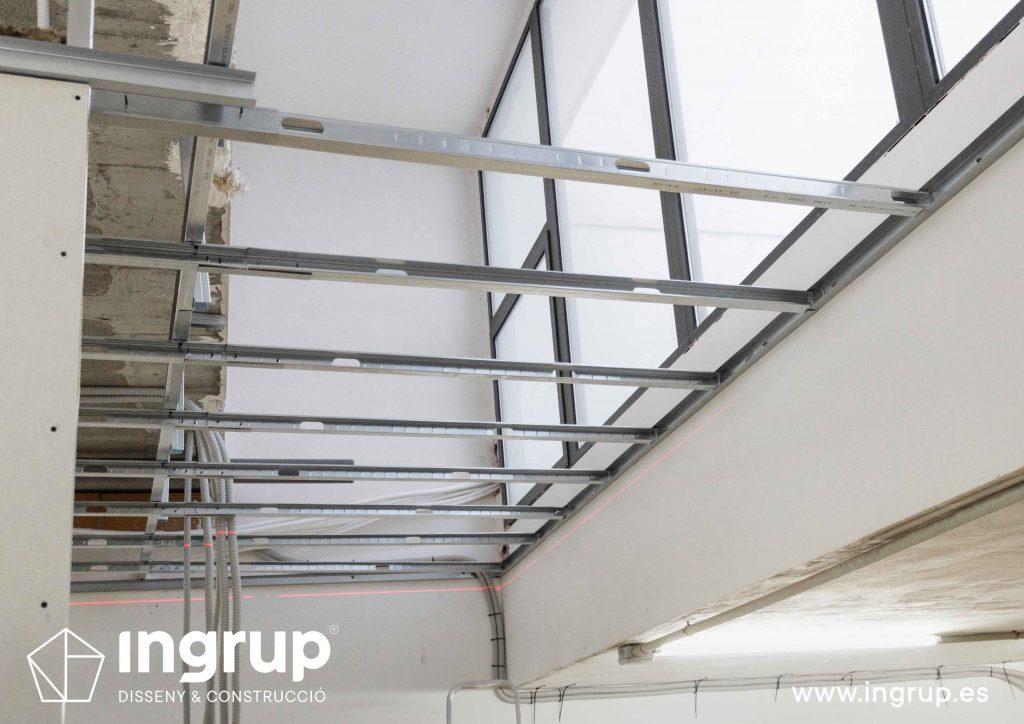 techo continuo pladur ingrup estudi