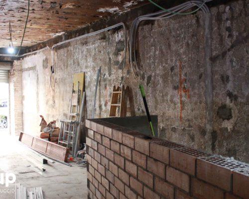 01 derribo local antiguo incendio saneamiento ingrup estudi diseno construccion retail granollers barcelona