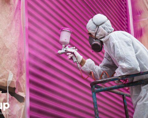 01 rotulación nave industrial aluminera pintura industrial torre letras corporeas gran formato operario ingrup estudi diseno construccion retail granollers barcelona