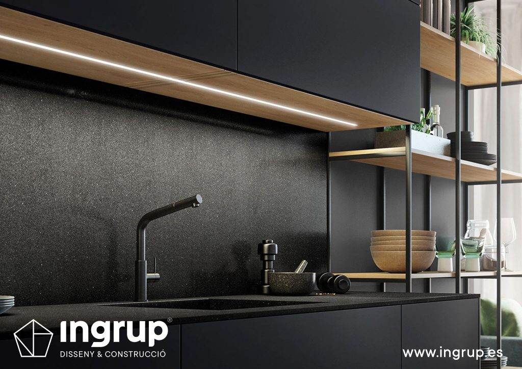 detalle-diseno-cocinas-a-medida-rekker-partner-showroom-exposicion-ingrup-estudio-construccion-retail-granollers-barcelona-materiales-alta-calidad