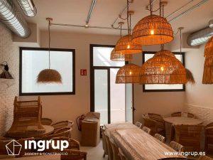 03 antes comedor ingrup estudi diseno construccion retail obra reforma granollers barcelona