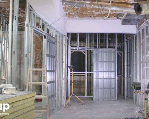 04 instalacion pladur trasdosados tabiques hidrofugos ingrup estudi diseno construccion retail granollers barcelona