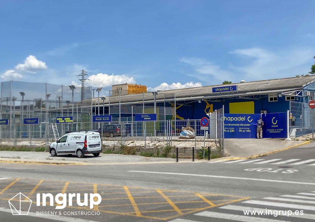 04 rotulacion retail vinilos impresion general instalaciones deportivas ohapadel ingrup estudi diseno construccion fabricacion instalacion
