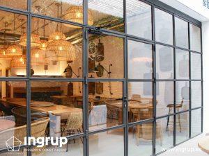 06 despues terraza cristalera ingrup estudi diseno construccion retail obra reforma granollers barcelona