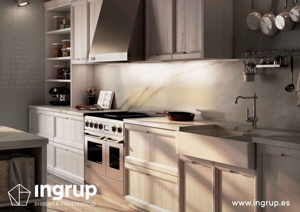06 diseno cocinas a medida rekker partner showroom exposicion ingrup estudio construccion retail granollers barcelona materiales alta calidad