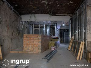 07 antes zona barra antigua saneamiento incendio barjj ingrup estudi diseno construccion retail rotulacion granollers