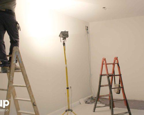 08 instalacion electrica nueva operario iluminacion pladur trasdosados pintura ingrup estudi diseno construccion retail granollers barcelona