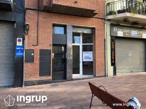 15 antes entrada posterior dermoestetica local comercial ingrup estudi diseno construccion retail rotulacion interiorismo granollers barcelona