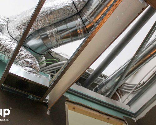 16 tubos aire climatización flotarium salas dermoestetica techo continuo pladur ingrup estudi estudio diseno construccion retail rotulacion granollers barcelona interiorismo