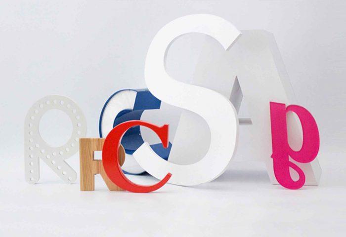slider 01 letras corporeas madera diseno fabricacion instalacion rotulacion ingrup estudio diseno construccion retail granollers barcelona