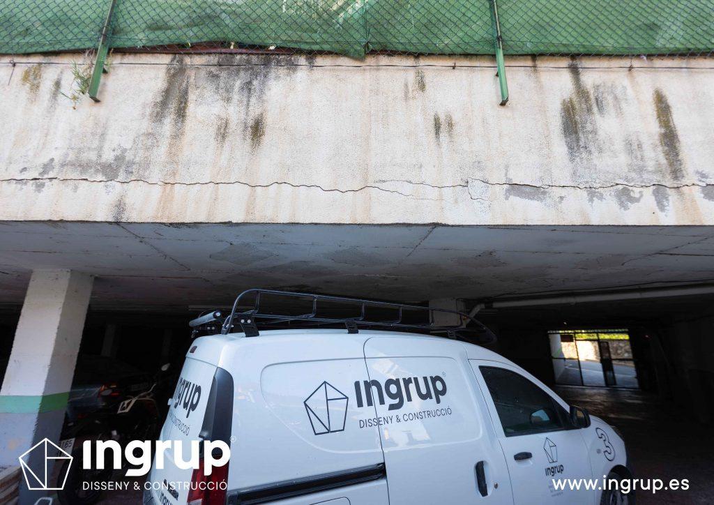 01 mantenimiento comunidad vecinos reparacion grieta escructural grapas revestimiento pintura ingrup estudi diseno construccion retail granollers barcelona
