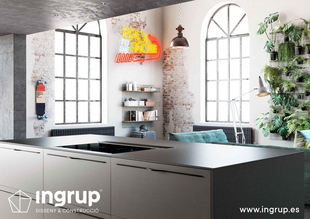 detalle-isla-diseno-cocinas-instalacion-a-medida-ingrup-estudi-distribuidor-oficial-rekker-construccion-retail-granollers-barcelona