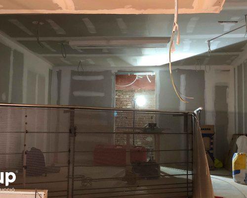 06 instalacion pladur integral trasdosados tabiques techo continuo reforma integral local comercial vermuteca interiorismo 3d ingrup estudi diseno construccion retail granollers barcelona