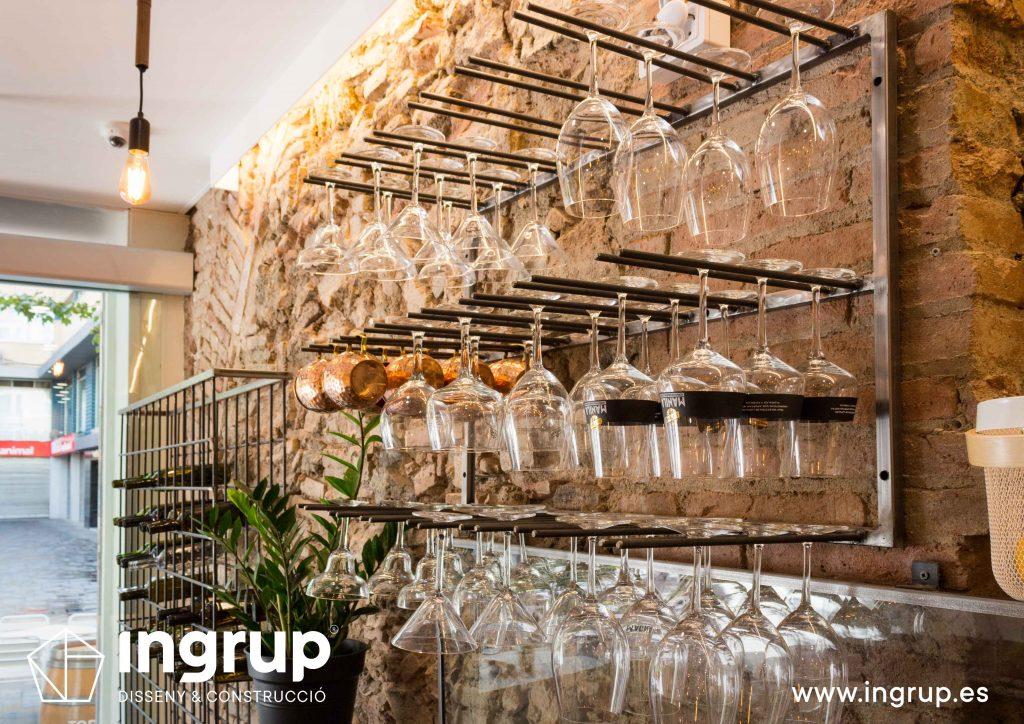 11 detalle copero fabricacion a medida mobiliario decoracion ingrup estudio diseno construccion retail granollers barcelona
