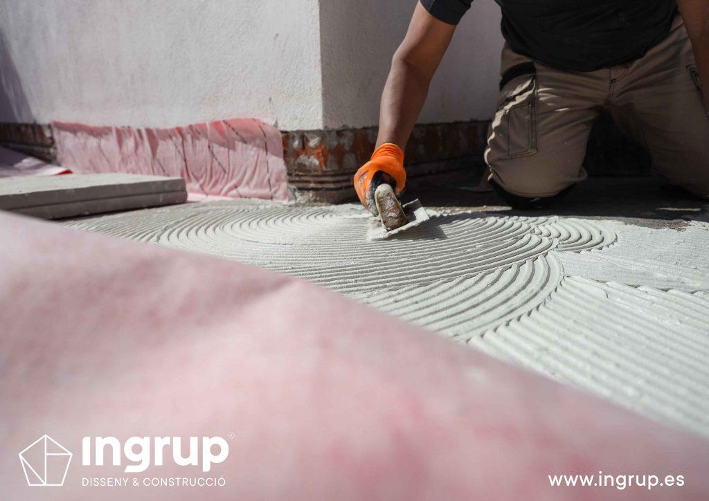 15 mantenimiento colocacion malla impermeabilizante mortero comunidad vecinos revestimiento pintura ingrup estudi diseno construccion retail granollers barcelona