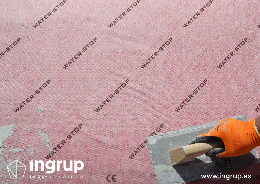 17 mantenimiento sellado colocacion malla impermeabilizante mortero comunidad vecinos revestimiento pintura ingrup estudi diseno construccion retail granollers barcelona