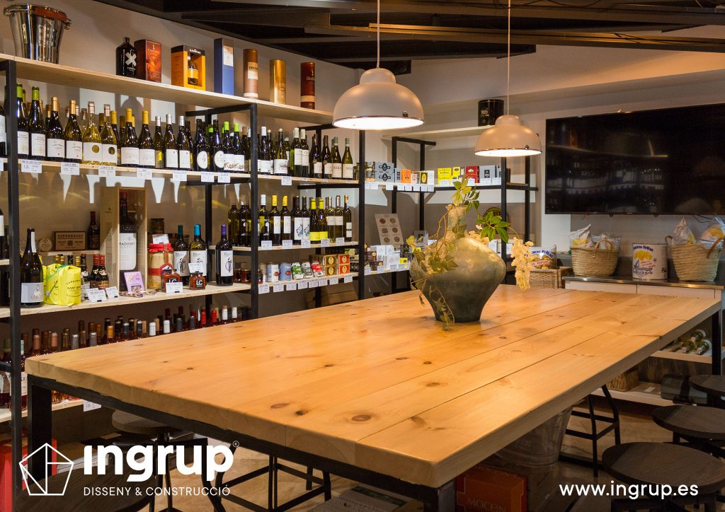 interiorismo comercial reforma integral vermuteria bar vermuteca ingrup estudio diseno construccion retail granollers barcelona