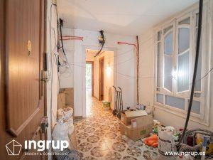 01 antes entrada proceso obra reforma integral piso barcelona interiorismo ingrup estudio diseno construccion retail granollers barcelona