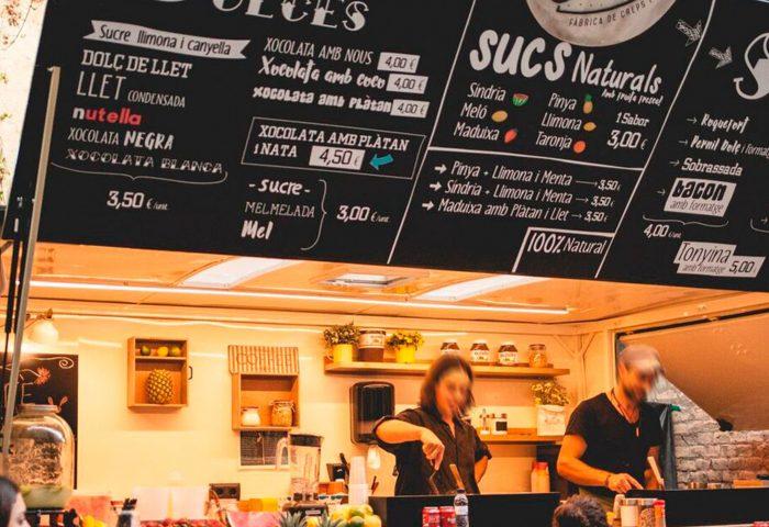 01 slider rotulacion integral foodtruck vadecreps vinilo letras corporeas impresion corte ingrup estudio diseno construccion retail granollers barcelona