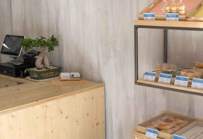02 sliderdiseño, obra y reforma de local comercial en granollers. obrador dedicado a la pastelería y dulces japoneses.