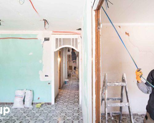 04 instalacion electrica proceso obra reforma integral piso barcelona interiorismo ingrup estudio diseno construccion retail granollers barcelona
