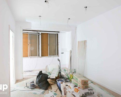 07 comedor pintura integral proceso obra reforma integral piso barcelona interiorismo ingrup estudio diseno construccion retail granollers barcelona