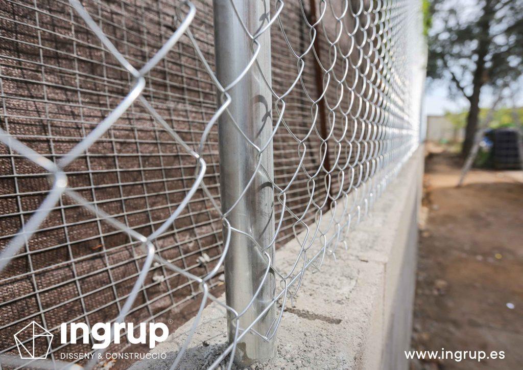 12 construccion muro divisor vivienda particular obra reforma ingrup estudio diseno construccion retail granollers barcelona