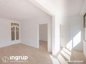 12 despues comedor proceso obra reforma integral piso barcelona interiorismo ingrup estudio diseno construccion retail granollers barcelona